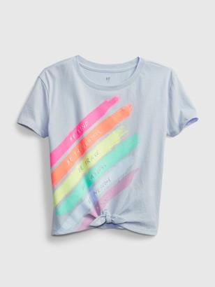 Gap Kids Tie Graphic T-Shirt