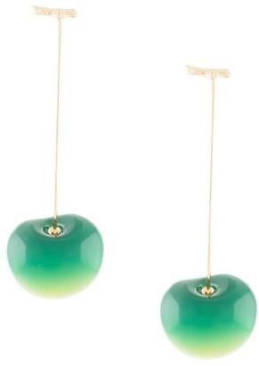 E.m. Cherry Pendant Earrings