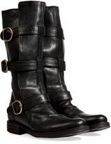 Fiorentini+Baker Fiorentini & Baker Leather Buckled Boots in Black