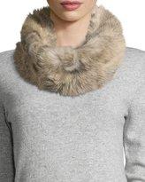 UGG Toscana Fur Snood w/ Knit Lining, Natural