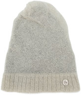 Lost & Found Ria Dunn - ribbed trim beanie - men - Linen/Flax/Nylon/Mohair/Wool - S