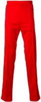 Maison Margiela stripe detail track pants - men - Cotton/Polyester - 46