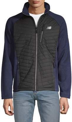 New Balance Logo Front-Zip Jacket