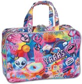 ISCREAM - Psychedelic Collage Cosmetic Bag - Large