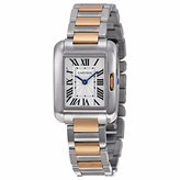 Cartier Tank Anglaise Small Ladies Two Tone Watch Watch - W5310019