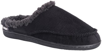Muk Luks Men's Corduroy Clog Slippers