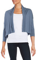 Max Mara Cropped Silk-Blend Cardigan