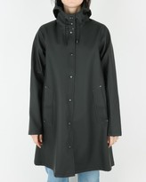 Stutterheim Mosebacke Raincoat Black - S