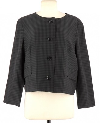 A.P.C. Grey Wool Jackets