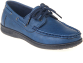 Jelly Beans Navy Anthony Boat Shoe