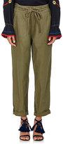 Ulla Johnson Women's Agata Cotton-Linen Paperbag-Waist Pants