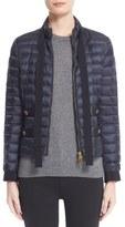 Moncler Women's Pavottine Water Resistant Bow Detail Short Down Jacket