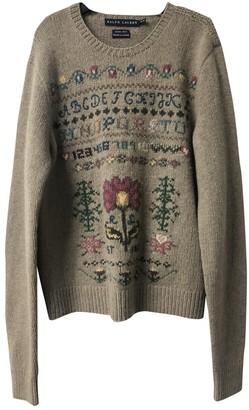 Ralph Lauren Brown Wool Knitwear for Women Vintage