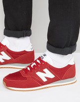 New Balance 70s Running 420 Trainers In Red U420rwg