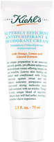 Kiehl's Superbly Efficient Anti-Perspirant & Deodorant Cream, 2.5 fl. oz.