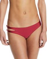 Tularosa Kris Side-Cutout Solid Swim Bikini Bottom
