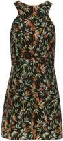 Morgan Exotic Print Crepe Dress