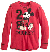 Disney Mickey Mouse Long Sleeve Thermal Tee for Men