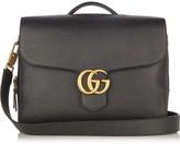 Gucci GG-logo leather briefcase