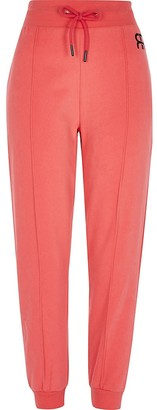 River Island Petite Red Branded Jogger