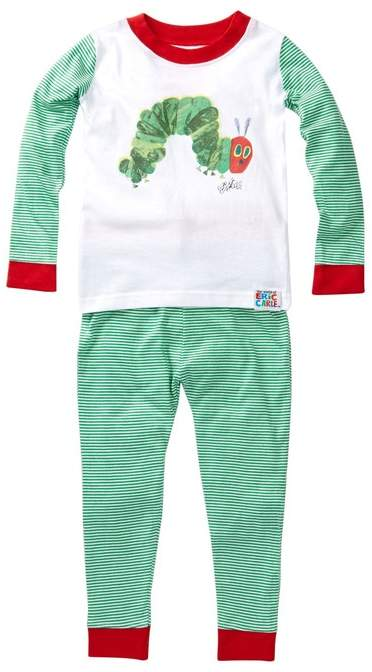 Intimo The World of Eric Carle Hungry Caterpillar Pajama Set