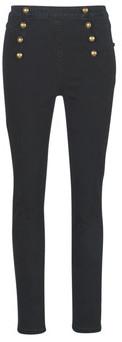 GUESS ROMAN women's Skinny Jeans in Black