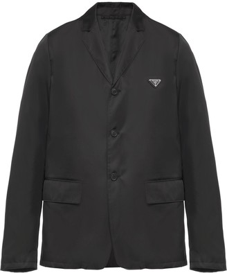 Prada Re-Nylon single-breasted jacket