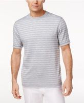 Tasso Elba Men's UPF 30+ Performance Striped T-Shirt, Only at Macy's