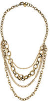 Lulu Frost Multistrand Chain Necklace