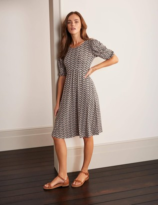 Lily Puff Sleeve Jersey Dress