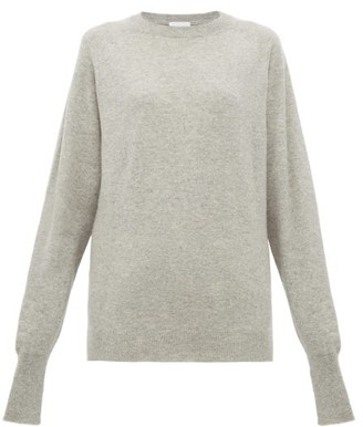 Raey Raglan-sleeve Boyfriend-fit Cashmere Jumper - Womens - Grey