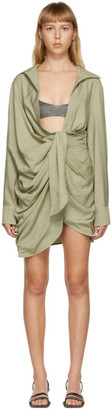 Jacquemus Green La Robe Bahia Dress