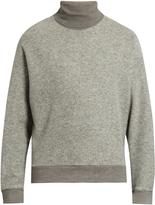 Wooyoungmi Roll-neck wool-blend felt sweater