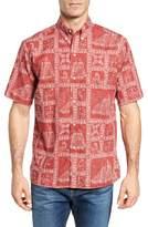 Reyn Spooner Newport Sailor Classic Fit Print Sport Shirt
