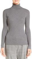 Classiques Entier Ribbed Turtleneck Sweater (Petite)