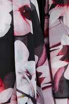 Wallis Berry Floral Print Scarf