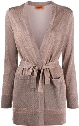 Missoni Fine Knit Metallic Cardigan