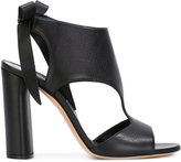 Casadei chunky heel daytime sandals - women - Calf Leather/Leather/Nappa Leather - 36