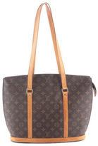 Louis Vuitton Brown Coated Canvas Monogram Babylone Tote Handbag BC5721 MHL