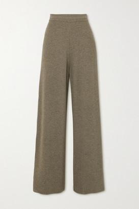 Frankie Shop Ribbed-knit Pants - Mushroom