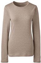 Classic Women's Tall Shaped Cotton Crewneck T-shirt-Gemstone Teal