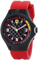Ferrari Men's 0830002 Pit Crew Analog Display Quartz Red Watch