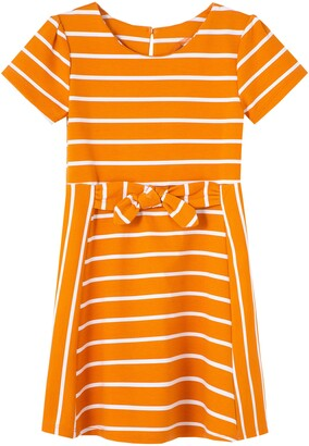 Habitual Kids' Estelle Stripe A-Line Dress