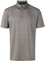 Ermenegildo Zegna patterned polo - men - Cotton - 46