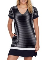 Donna Karan Get In Line Modal Sleep Shirt