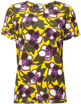 P.A.R.O.S.H. floral short sleeve top - women - Silk - M
