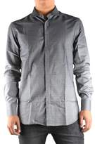 Neil Barrett Men's Grey Cotton Shirt.