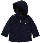 Urban Republic Faux Shearling Lined Coat (Baby & Toddler Boys)