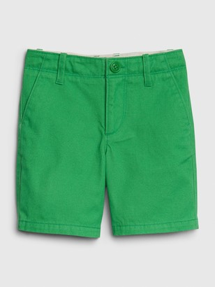 Gap Toddler Lived-In Chino Pant Shorts