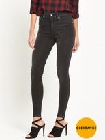Lee Scarlett High Waist Skinny Jean - Black Rinse